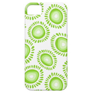Lovely funky green flowers iPhone 5 Case