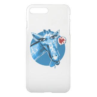 lovely giraffe cartoon style funny illustration iPhone 8 plus/7 plus case