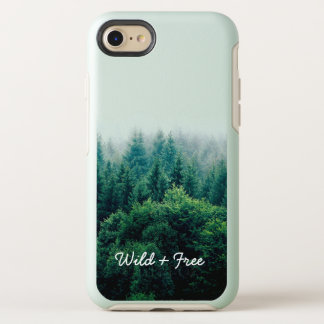 Lovely Green Forest Wild and Free OtterBox Symmetry iPhone 8/7 Case