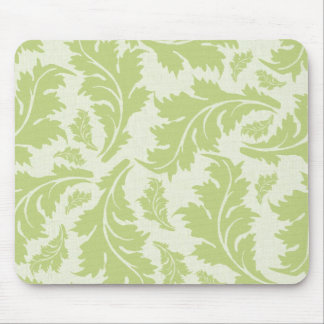 Lovely Green leaves Mouse Pad