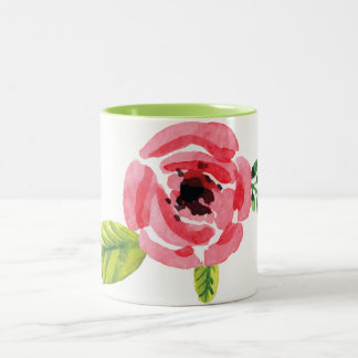 Lovely Hand Painted Watercolor Flower | Mug