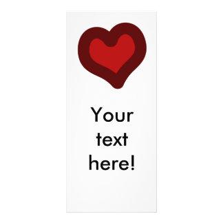 Lovely Heart Custom Rack Card