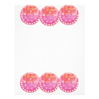 Lovely Heart Shape Garland :  Monkey Love 21.5 Cm X 28 Cm Flyer