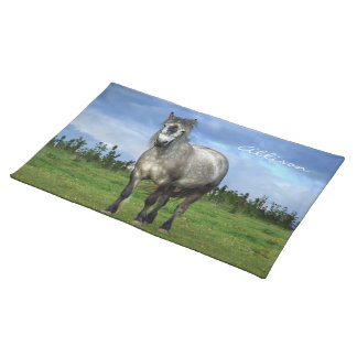 Lovely horse your name placemat