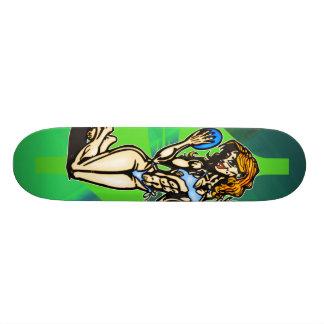 Lovely Lady Skate Board