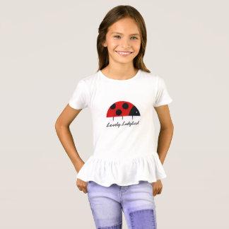 'Lovely Ladybird' Ruffle T-Shirt