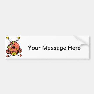 Lovely Ladybug Bumper Sticker