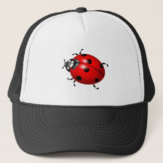 Lovely ladybug design products trucker hat