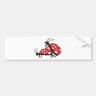 Lovely Ladybugs Bumper Sticker