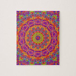 Lovely Lava Kaleidoscope Jigsaw Puzzle