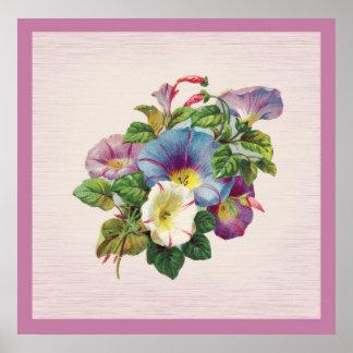 Lovely Lavendar Flowers Poster
