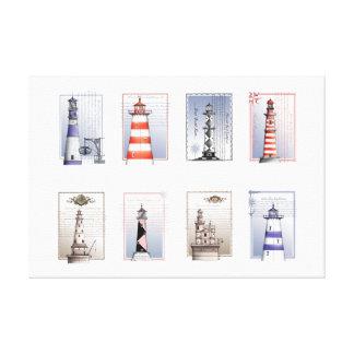 lovely lighthouse, tony fernandes canvas print