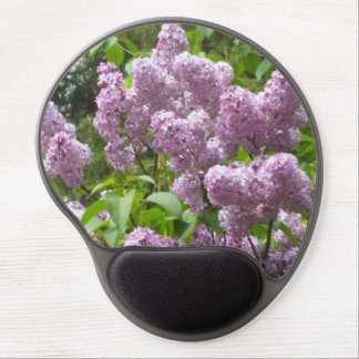 Lovely Lilac Bush Gel Mouse Pad