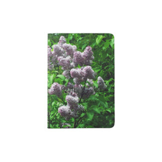 Lovely Lilac Bush Passport Holder
