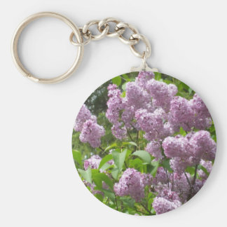 Lovely Lilacs Key Ring