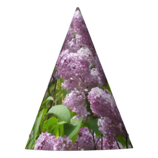 Lovely Lilacs Party Hat