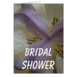Lovely Lily Wedding Card