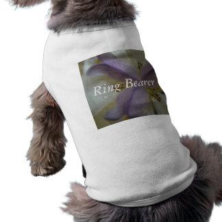 Lovely Lily Wedding Dog Shirt
