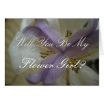 Lovely Lily Wedding Greeting Cards
