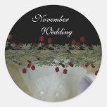 Lovely Lily Wedding Sticker