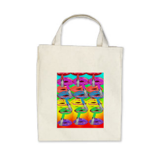 Lovely Lips Tote Bags