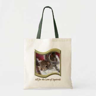 Lovely Litas Baby Squirrel Budget Tote