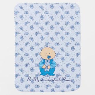 Lovely Little Bunny Baby Blanket
