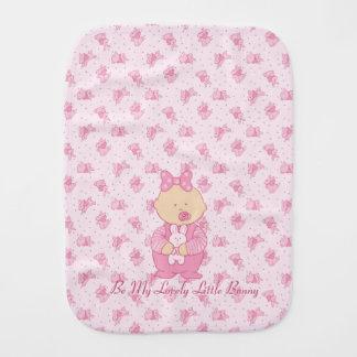 Lovely Little Bunny Burp Cloth