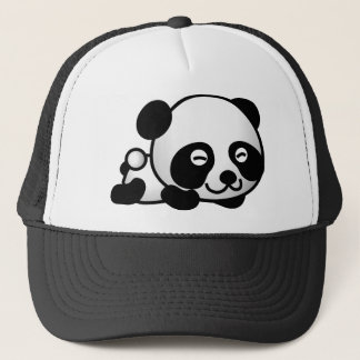 Lovely little Panda Trucker Hat