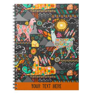 Lovely Llamas - Custom Notebook