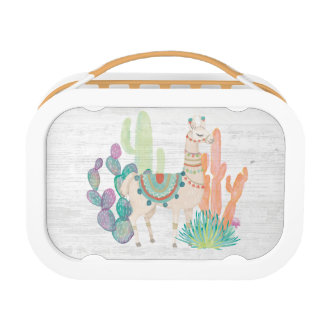 Lovely Llamas II Lunch Box