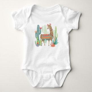 Lovely Llamas III Baby Bodysuit