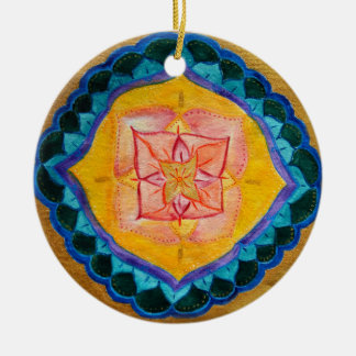 Lovely Mandala Circle Ornament