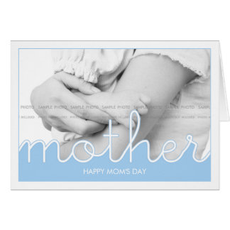Lovely Mom's Day Photo Greeting Cards | Cut Outs