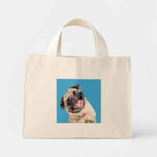 Lovely mops dog mini tote bag