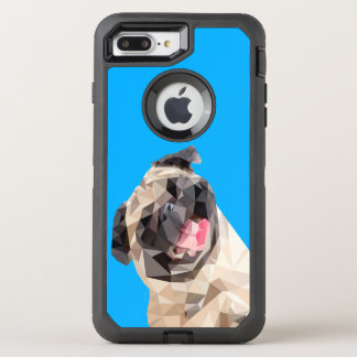 Lovely mops dog OtterBox defender iPhone 8 plus/7 plus case
