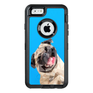 Lovely mops dog OtterBox iPhone 6/6s case