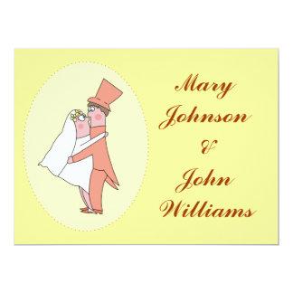 Lovely Newlyweds Wedding Invitations