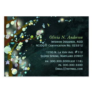 Lovely Night Personalized Business Cards