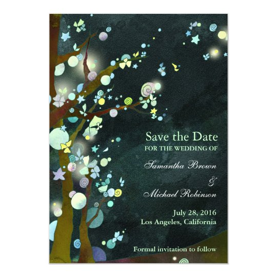 Lovely Night: Save the Date Invitations