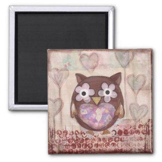 Lovely Owl Magnet