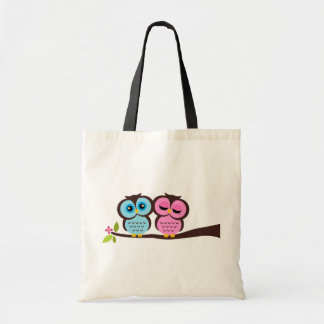 Lovely Owls Budget Tote Bag