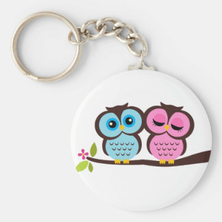 Lovely Owls Key Chain