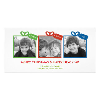 Lovely Packages Holiday Photo Card