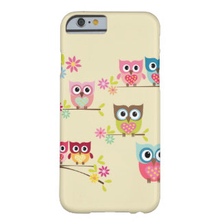 Lovely Pastel Owls - iPhone 6 case