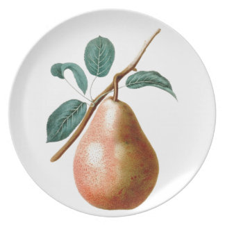 LOVELY PEAR PARTY PLATES