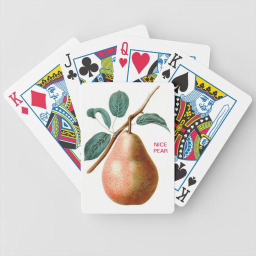 LOVELY PEAR PLAYING CARDS
