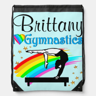 LOVELY PERSONALIZED GYMNASTICS BACKPACK