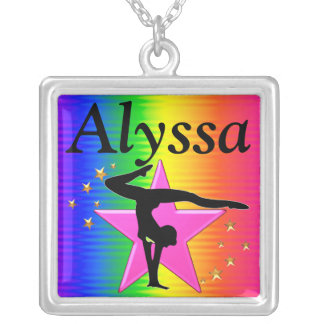 LOVELY PERSONALIZED GYMNASTICS NECKLACE
