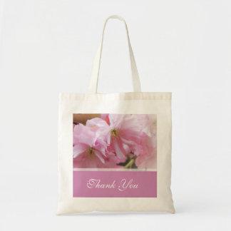 Lovely pink cherry blossom  spring wedding favor